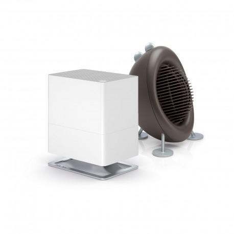 Zestaw nawilżacz Stadler Form Oskar Little, biały + termowentylator Stadler Form Max, brązowy